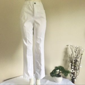 Christopher & Banks Women's White Jeans